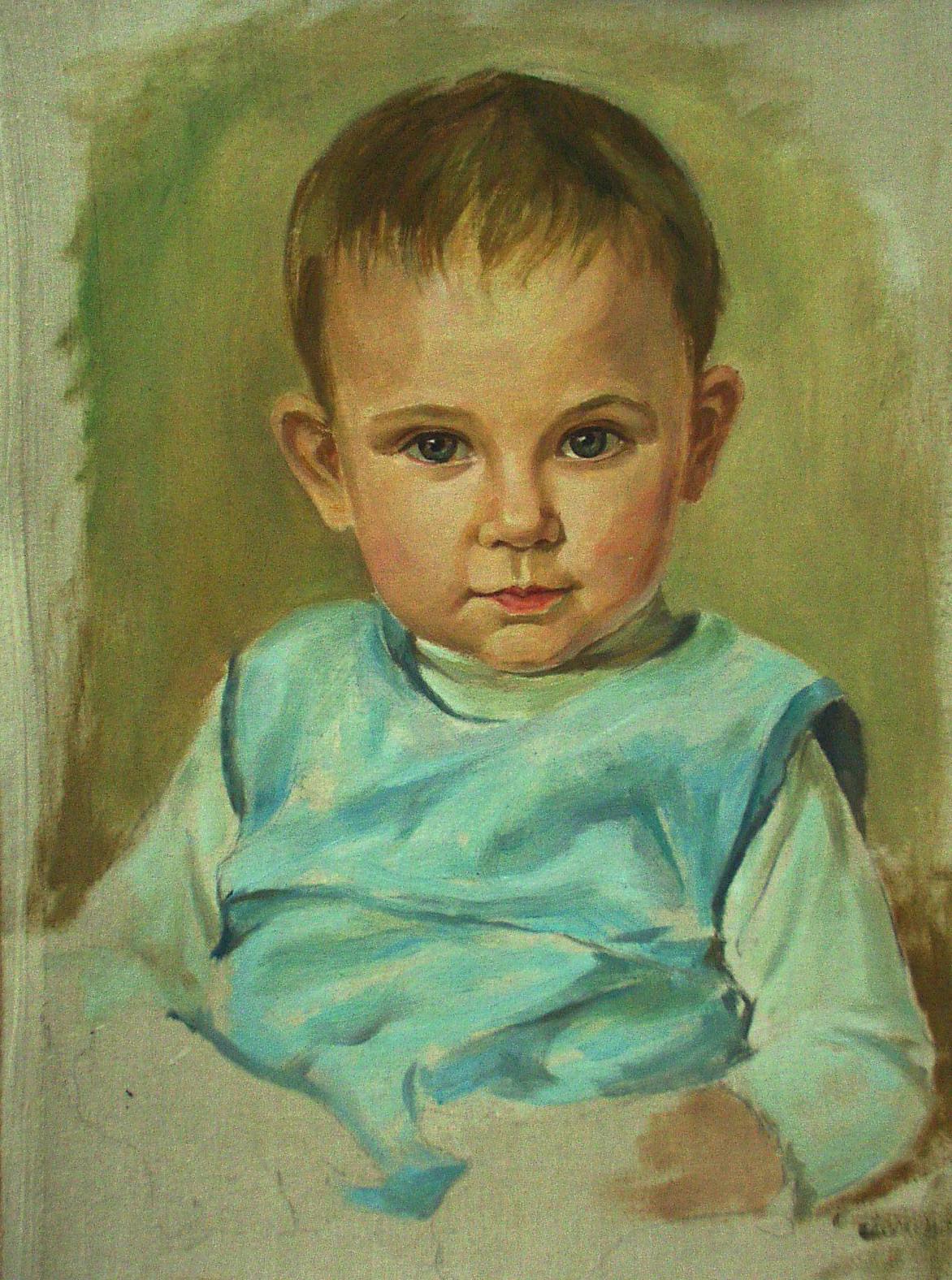 Портрет ребенка по фото